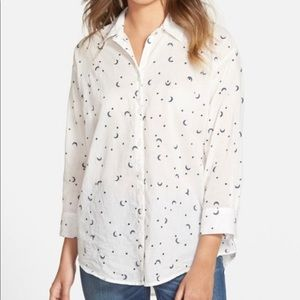 Madewell Celestial Embroidered Button Up